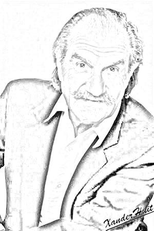 Portrait Gérard Hernandez by XanderHuit