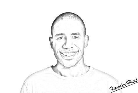 Portrait Loup-Denis Elion by XanderHuit