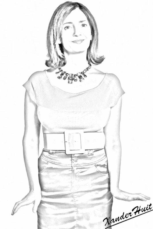 Portrait Valérie Karsenti by XanderHuit