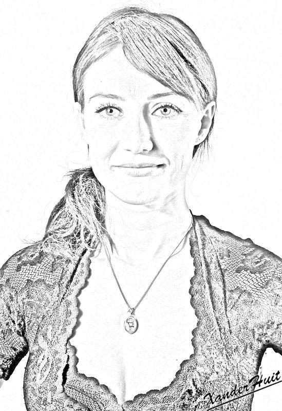 Portrait Carice Van Houten by XanderHuit