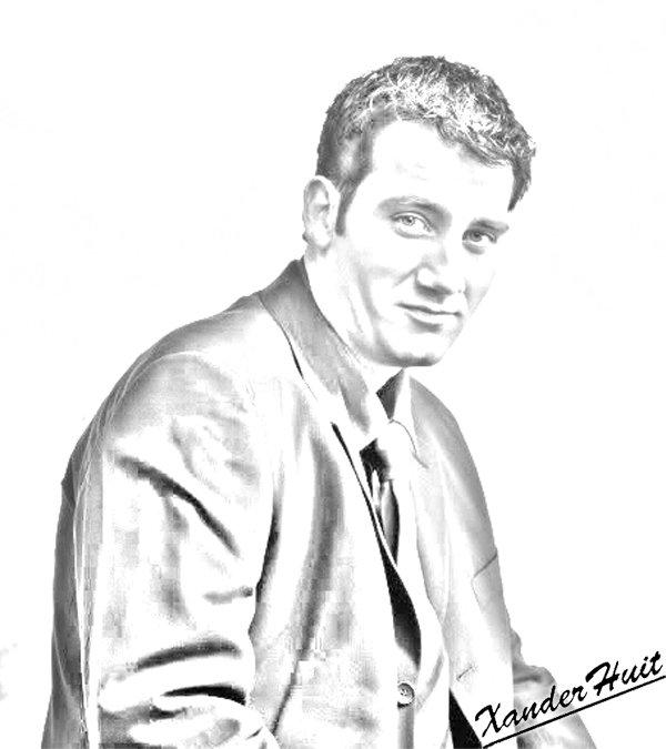Portrait Clive Owen by XanderHuit