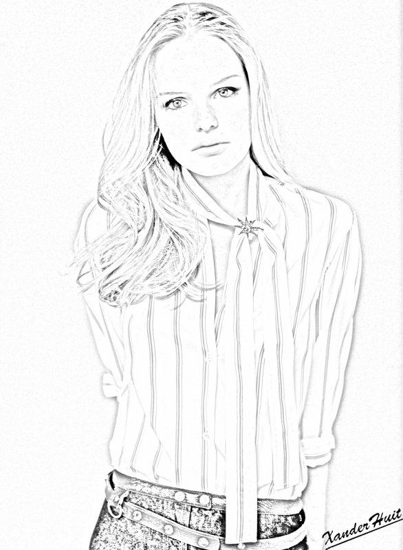 Portrait Kate Bosworth by XanderHuit