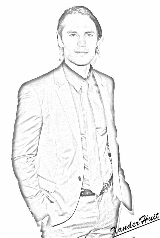 Portrait Taylor Kitsch by XanderHuit