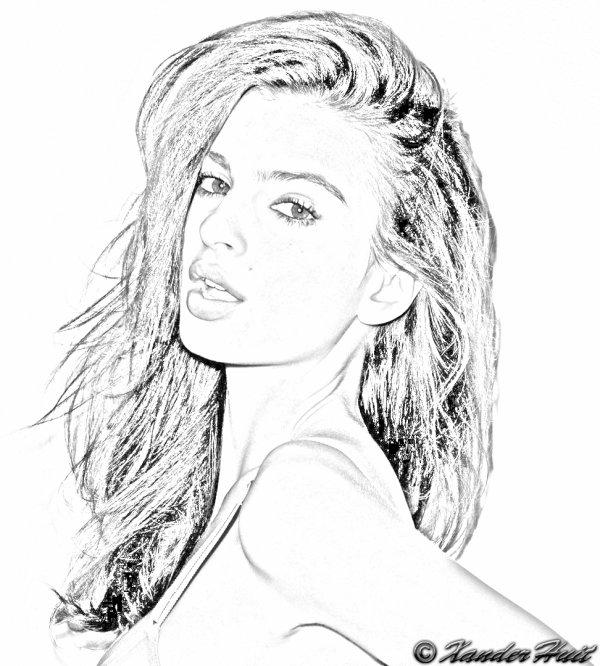 Portrait Emily Ratajkowski by XanderHuit