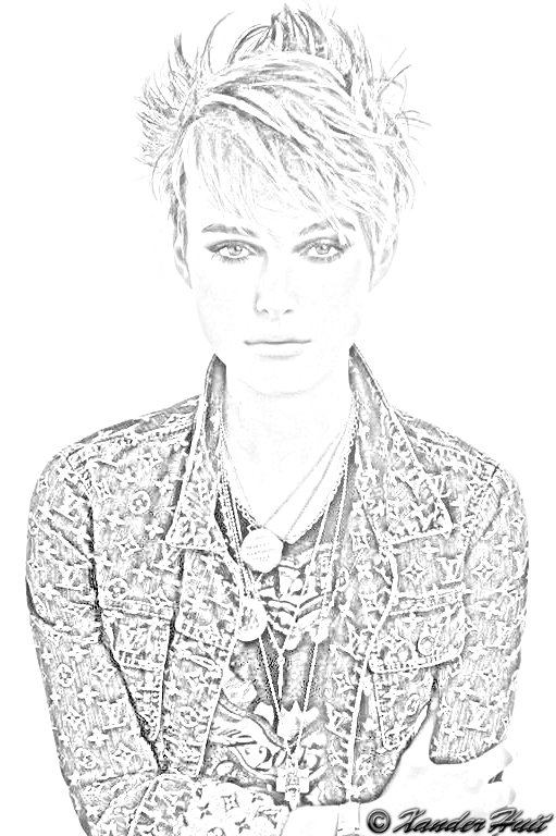 Portrait Keira Knightley by XanderHuit