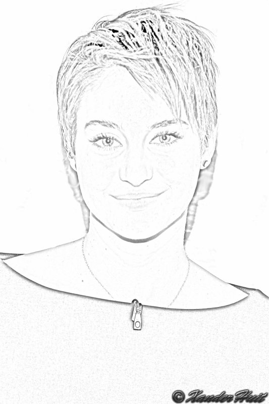 Portrait Shailene Diann Woodley by XanderHuit