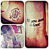 J'adore les tatouages de tini ^^