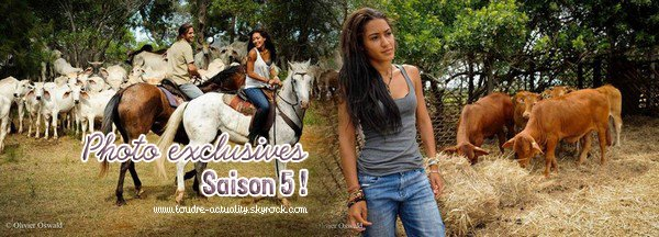 Photos Foudre saison 5.
