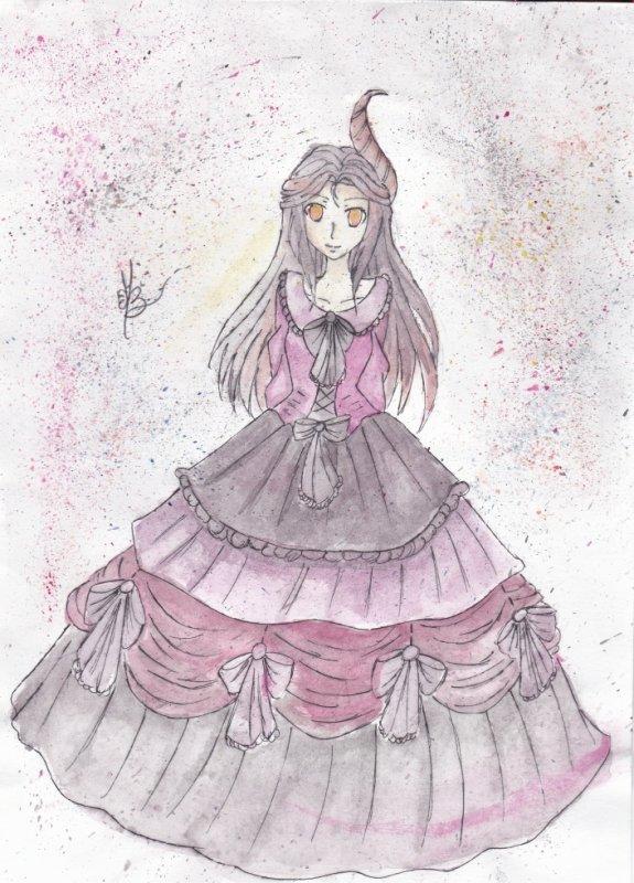 Dear lovely dark princess- Concours dessin
