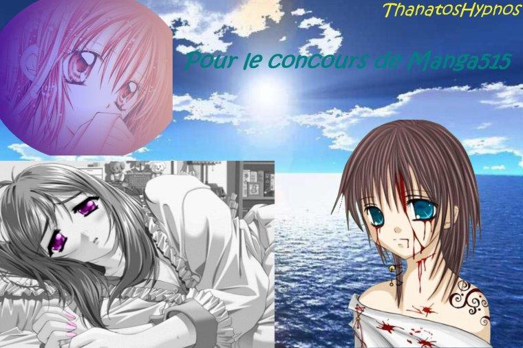 Montage pour le concours de Manga515 ^^