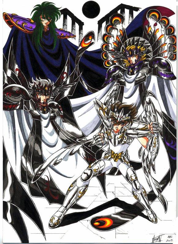 Dieux VS Seiya