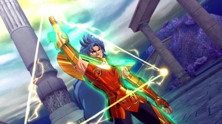 Kanon des Dragon des Mers dans Saint Seiya ~ Brave Soldier (PS3)