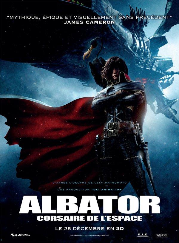 Albator, Corsaire de l'Espace ~ Le film en 3D