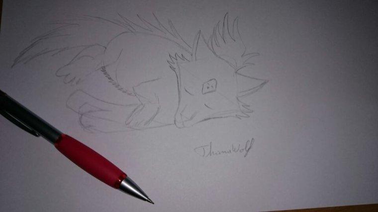 Un dessin en cours :-)