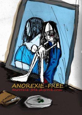 Causette sur l'anorexie....