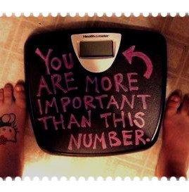 L'important , ce n'est pas votre poids sur la balance