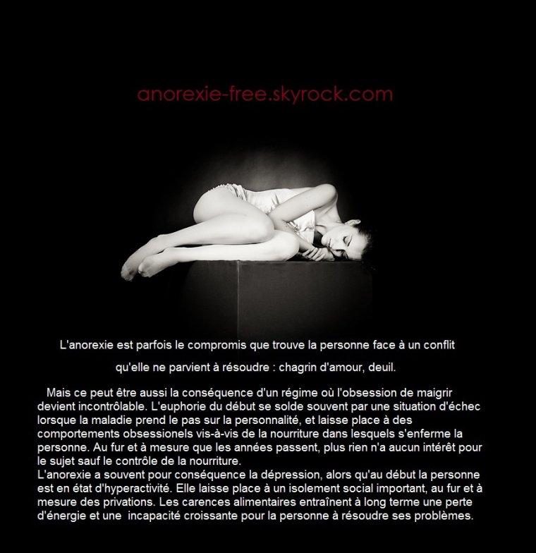 l'anorexie comme absence de soi