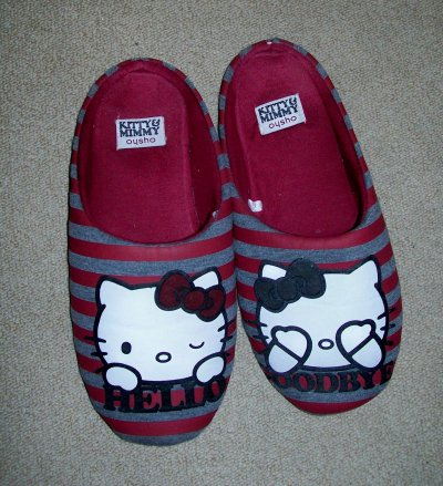 chaussons oysho kitty et mimmy