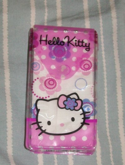 mouchoirs pochette kitty