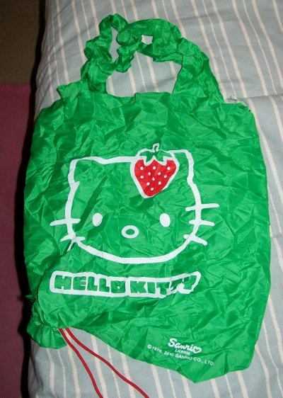 sac shopping hello kitty