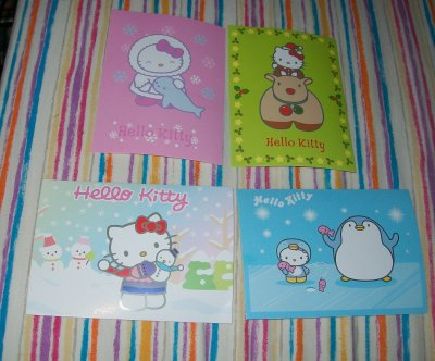 cartes postales kitty