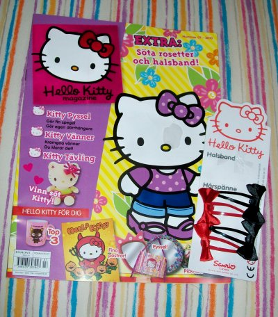 magazine kitty suedois decembre