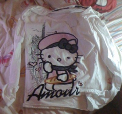 tee shirt oysho kitty