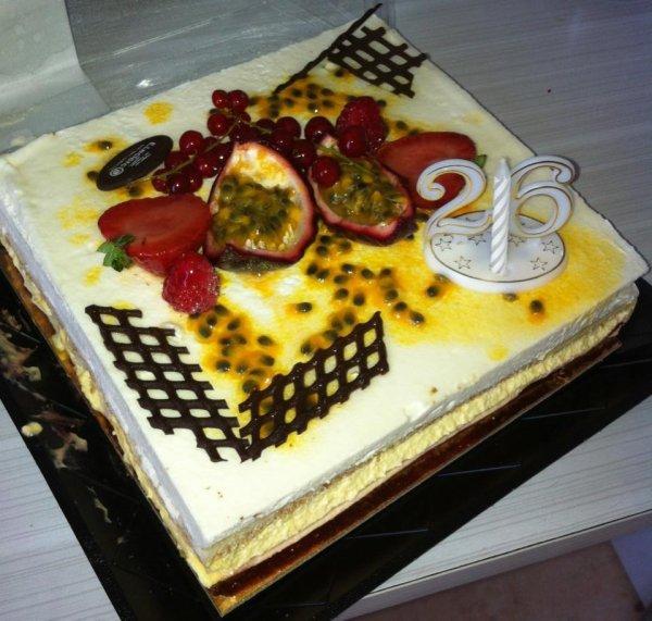 Le gâteaux d anniversaire à mon homme {09/08/2013}