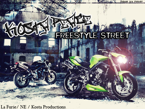 Peace Feat Kosta - Freestyle Street