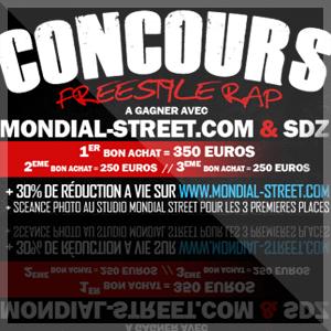 PEACE VAINQUEUR : Concour Freestyle Sondelazone & Mondial-Street 2011
