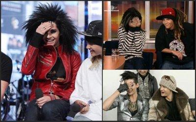 Bonne anniversaire a nos 2 jumeaux de Tokio Hotel