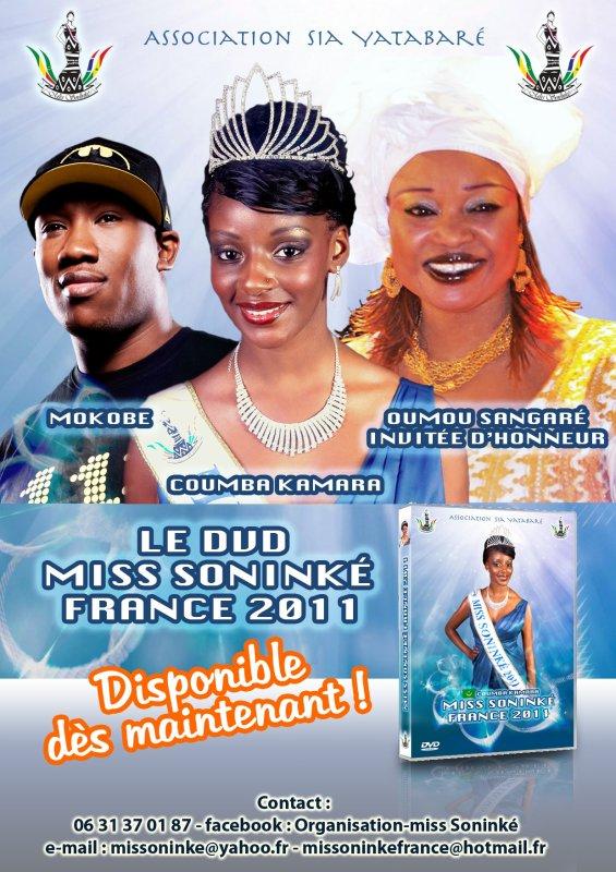 Le DVD de miss soninké france 2011 vient de sortir