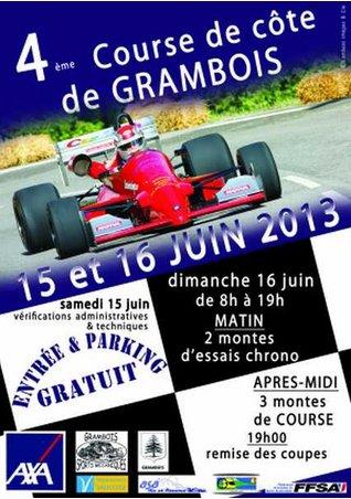 course de côte de GRAMBOIS  (84)