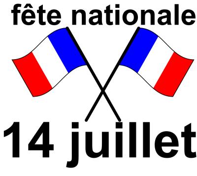 bonne fête national française se 14 juillet 2018
