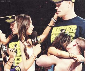 """Article : """" AJ & John Cena """" sur aprillee.skyrock.com, ta source sur la magnifique  April Jeanette Mendez."""