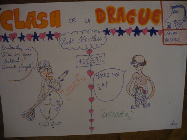 Clash de la DRAGUE_ Lundi 14 Mars