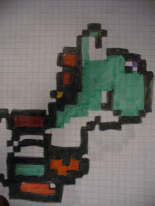 Yoshi en Pixel...
