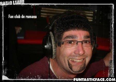 Romano avec des cheuveux!