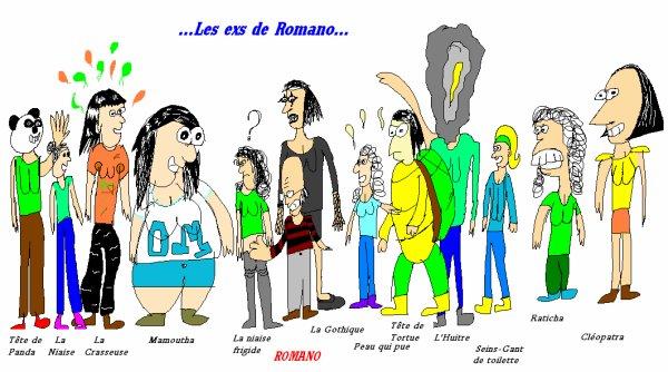 Les EX de ROMANO