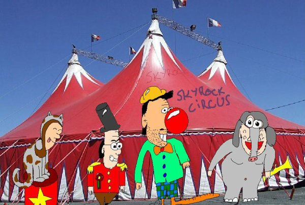 Le Cirque chez SKYROCK