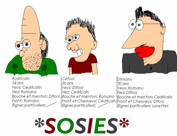 Les SOSIES DE L'EQUIPE