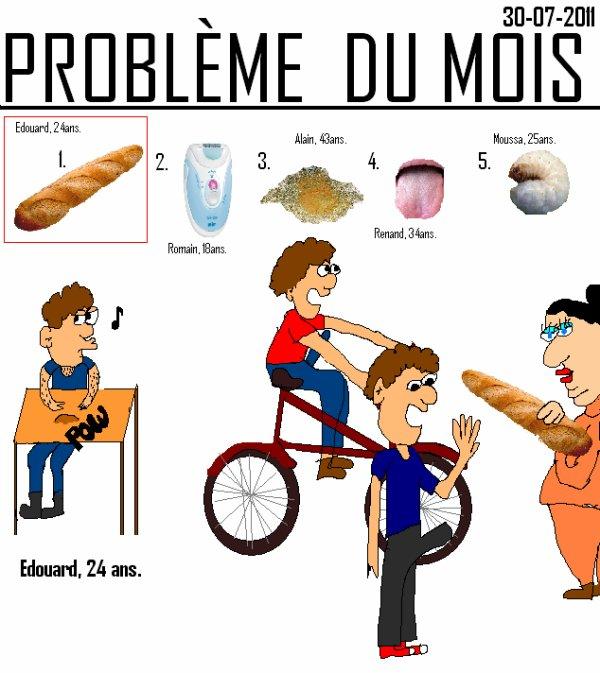 Problème du mois- 30-07-2011