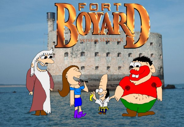 -FORT BOYARD- Version Skyrock