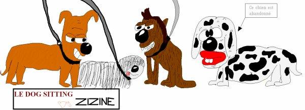LE DOG-SITTING By ZIZINE