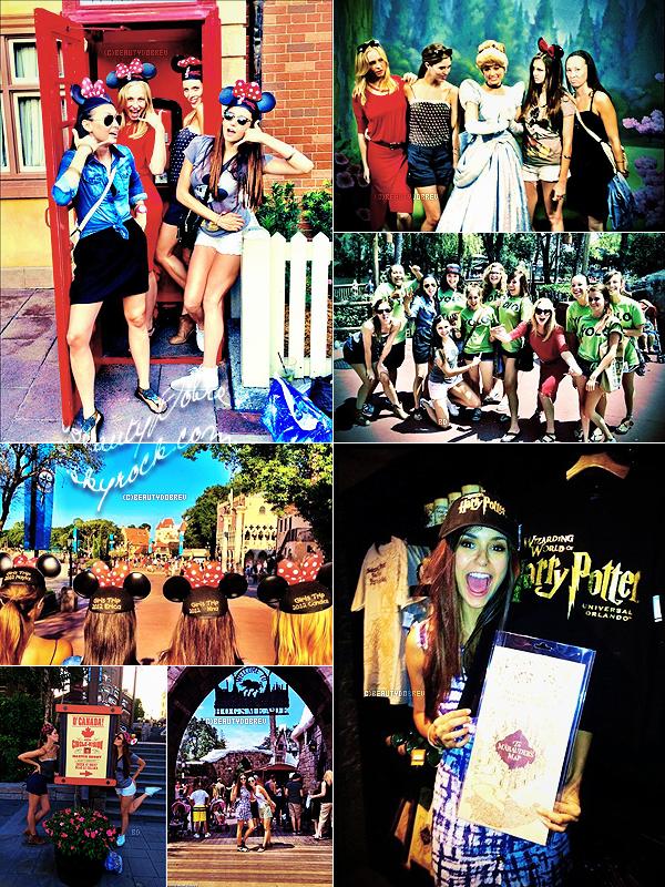 Appearance |  1 Septembre 2012 > ...Suite, du séjour de Nina a Disney Land
