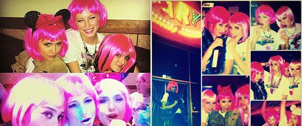 The Vampire Diaries |  12 Octobre 2012 > Daniel Gillies a posté une photo de lui avec Nina sur le set de l'épisode 4x09