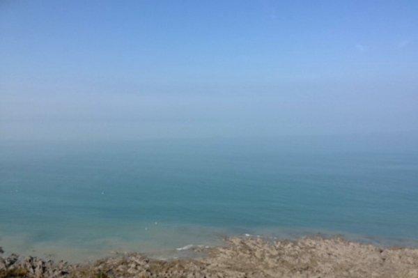 Marchais 5 km dans des falaise avec le lycée pour avoir une vue magnifique ❤️