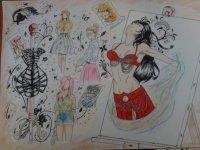 Top 3 du concours de dessin !!!!