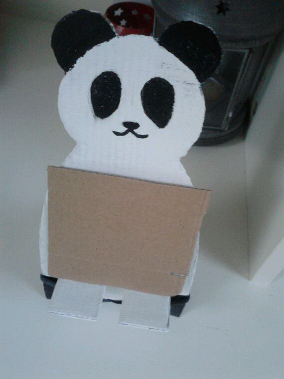 DIY repose telephone panda