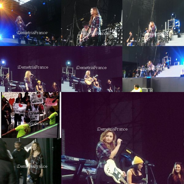 16.04.12 : A Special Night With Demi Lovato : Pérou.